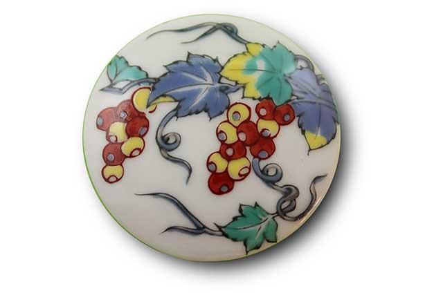やきもの 焼き物 陶磁器 アクセサリー 小物雑貨 有田焼マグネット ぶどう