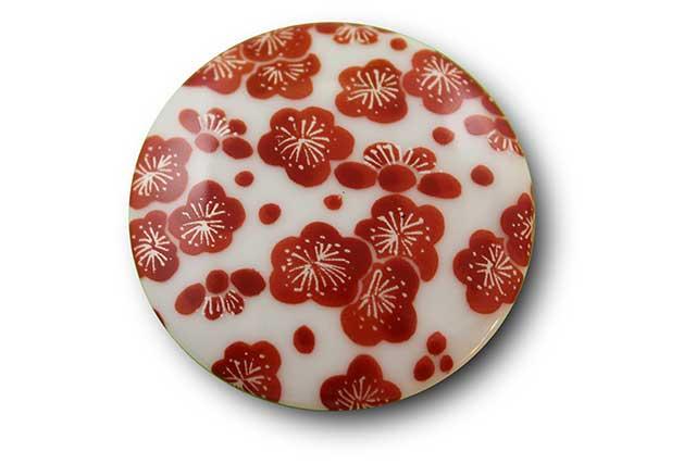 やきもの 焼き物 陶磁器 アクセサリー 小物雑貨 有田焼マグネット 梅