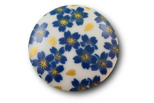 やきもの 焼き物 陶磁器 アクセサリー 小物雑貨 有田焼マグネット ブルー桜