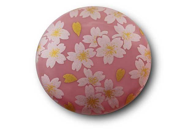 やきもの 焼き物 陶磁器 アクセサリー 小物雑貨 有田焼マグネット ピンク銀桜