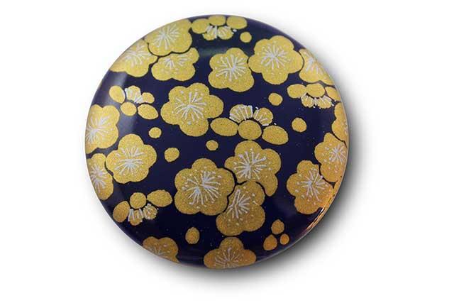 やきもの 焼き物 陶磁器 アクセサリー 小物雑貨 有田焼マグネット るり金梅