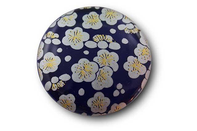 やきもの 焼き物 陶磁器 アクセサリー 小物雑貨 有田焼マグネット るり銀梅