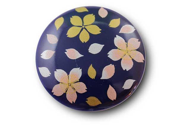 やきもの 焼き物 陶磁器 アクセサリー 小物雑貨 有田焼マグネット るり桜吹雪(ピンク)