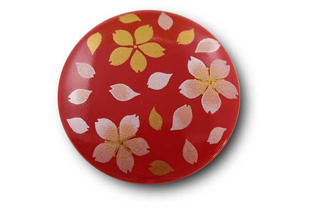 やきもの 焼き物 陶磁器 アクセサリー 小物雑貨 有田焼マグネット 赤桜吹雪