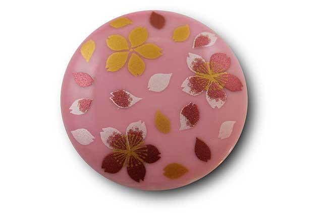 やきもの 焼き物 陶磁器 アクセサリー 小物雑貨 有田焼マグネット ピンク桜吹雪