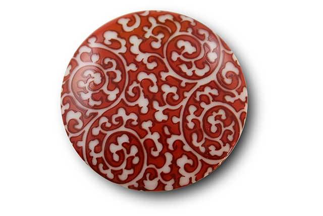 やきもの 焼き物 陶磁器 アクセサリー 小物雑貨 有田焼マグネット 赤唐草