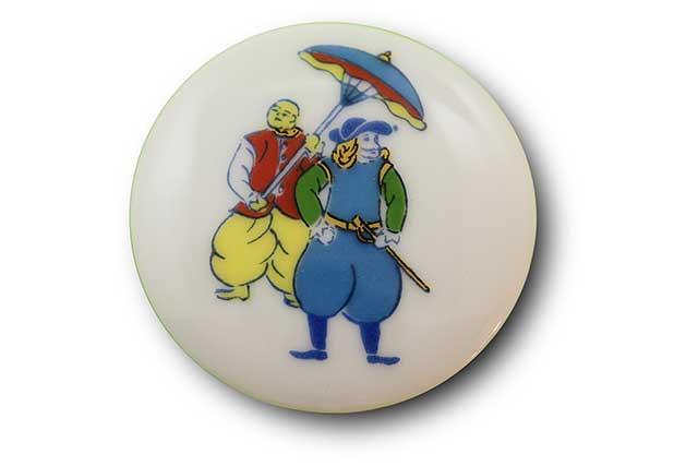 やきもの 焼き物 陶磁器 アクセサリー 小物雑貨 有田焼マグネット 南蛮人