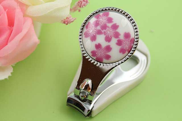 やきもの 焼き物 陶磁器 アクセサリー 小物雑貨 有田焼爪切り 桜