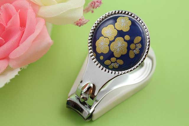 やきもの 焼き物 陶磁器 アクセサリー 小物雑貨 有田焼爪切り るり金梅