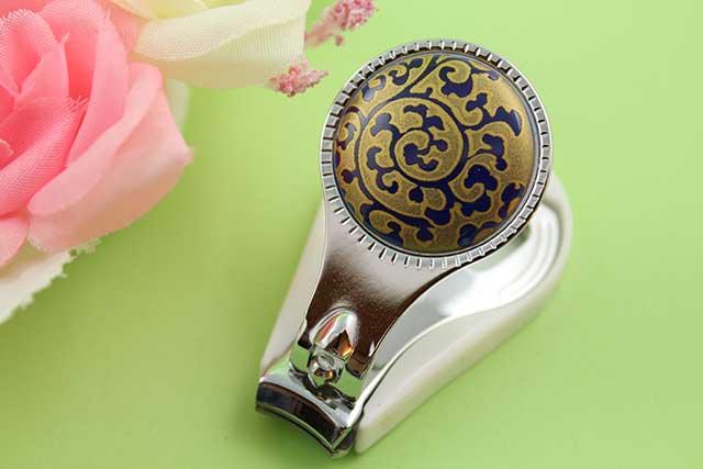 やきもの 焼き物 陶磁器 アクセサリー 小物雑貨 有田焼爪切り るり金唐草