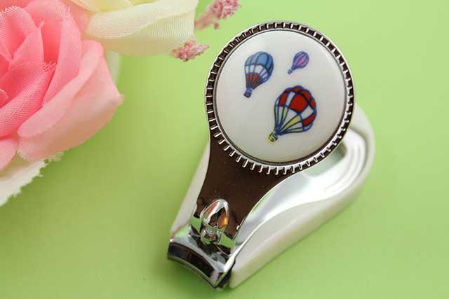 やきもの 焼き物 陶磁器 アクセサリー 小物雑貨 有田焼爪切り バルーン