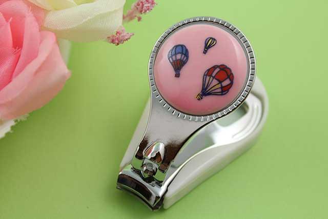 やきもの 焼き物 陶磁器 アクセサリー 小物雑貨 有田焼爪切り ピンクバルーン