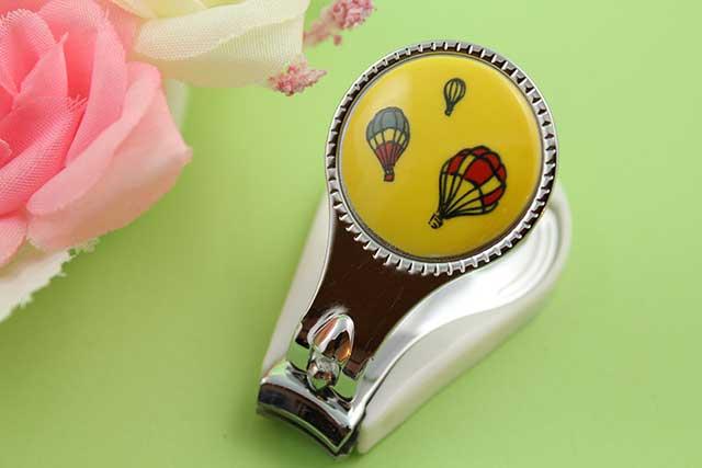 やきもの 焼き物 陶磁器 アクセサリー 小物雑貨 有田焼爪切り 黄バルーン