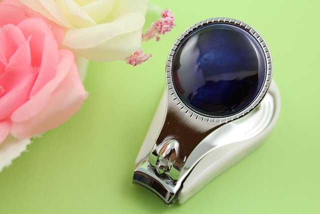 やきもの 焼き物 陶磁器 アクセサリー 小物雑貨 有田焼爪切り るりブルー