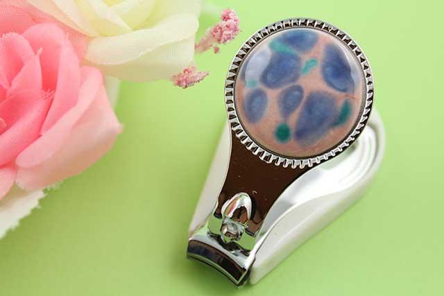 やきもの 焼き物 陶磁器 アクセサリー 小物雑貨 有田焼爪切り ピンクブルー