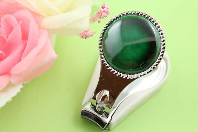 やきもの 焼き物 陶磁器 アクセサリー 小物雑貨 有田焼爪切り グリーン