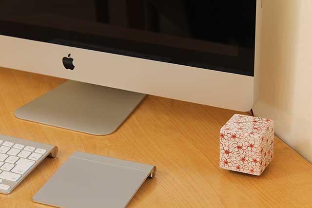 やきもの 焼き物 陶磁器 アクセサリー 小物雑貨 有田焼染付音箱 -OTOBAKO- 錦桜SAKURA