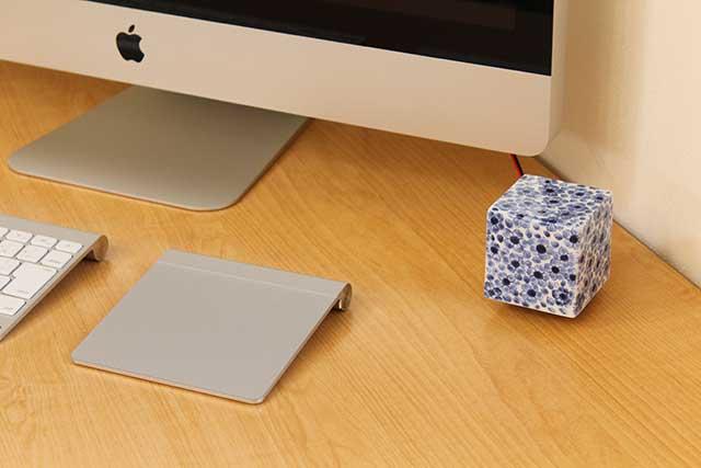 やきもの 焼き物 陶磁器 アクセサリー 小物雑貨 有田焼染付音箱 -OTOBAKO- 染付桜SAKURA