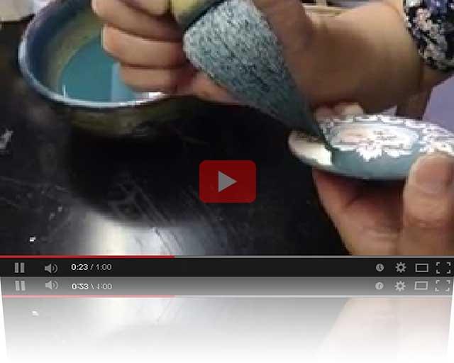 プレゼント・ギフトにやきもの(焼き物 陶磁器)オリジナルのアクセサリー・小物雑貨 有田焼ネームプレート